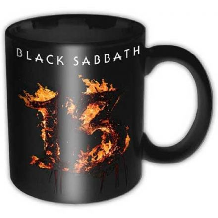 Black Sabbath 13 Ceramic Mug
